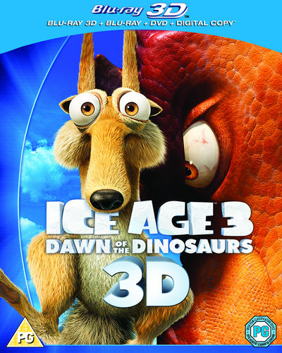 Ice Age 3: Dawn of the Dinosaurs 3D (Blu-ray)
