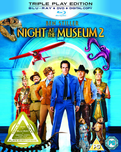 Night at the Museum 2 (Triple Play Blu-ray)