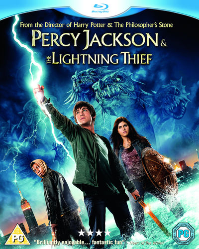 Percy Jackson & the Olympians: The Lightning Thief (Blu-ray)