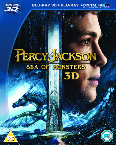 Percy Jackson - Sea of Monsters (3D Blu-ray)