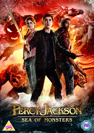 Percy Jackson Sea of Monsters (DVD)