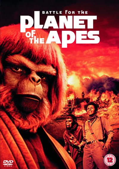 Battle For The Planet Of The Apes (DVD)