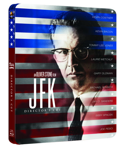 JFK Limited Edition Steelbook (Blu-ray)