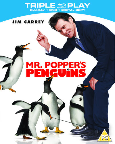 Mr. Popper's Penguins (Triple Play Blu-ray)