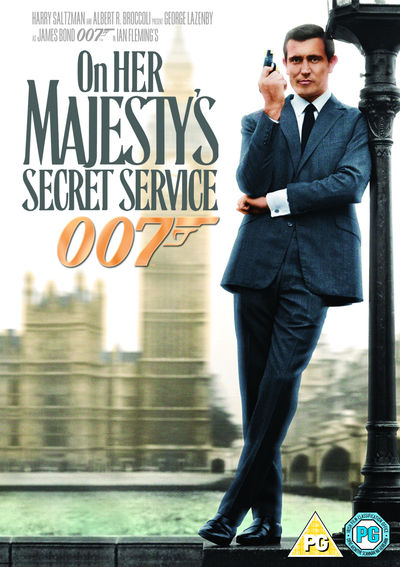 On Her Majesty's Secret Service (2 Disc) (DVD)