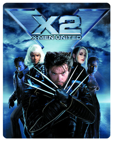 X-Men 2 Limited Edition Steelbook on Blu-ray
