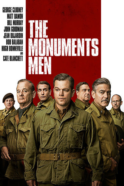 The Monuments Men now available on Digital HD from select retailers