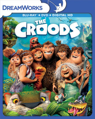 THe Croods, The Blu-ray Triple Play DHD w/ DreamWorks O-Ring