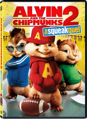 Alvin and the Chipmunks: The Squeakquel Repackaged DVD