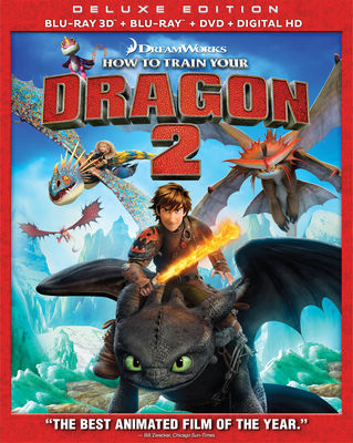 How to Train Your Dragon 2 Blu-ray 3D Blu-Ray