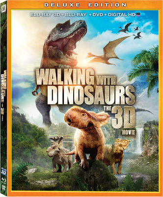 Walking with Dinosaurs: The Movie Blu-ray 3D Deluxe Edition Blu-Ray