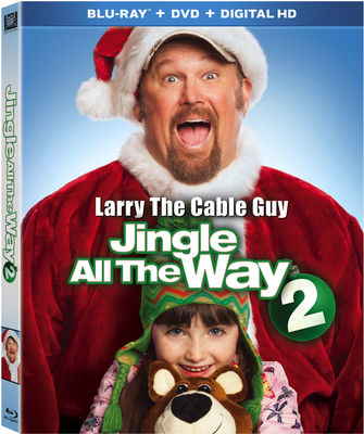Jingle All the Way 2 Blu-ray Combo w/ DHD Blu-Ray