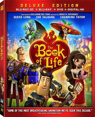 THE BOOK OF LIFE Blu-ray 3D