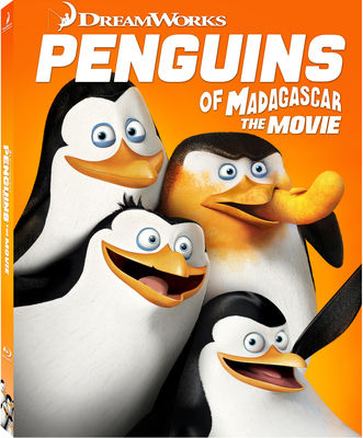 Penguins of Madagascar Blu-ray w/ Family Icons Oring