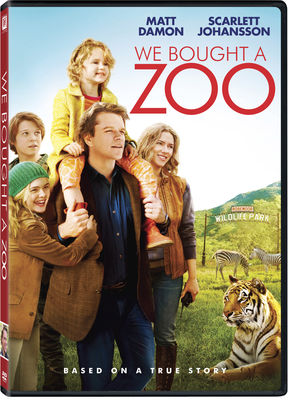 We Bought a Zoo Repackaged DVD