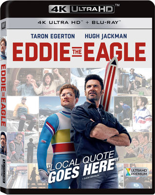 Eddie the Eagle 4K Ultra HD Bluray
