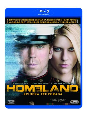 HOMELAND Temporada 1 en Blu-Ray