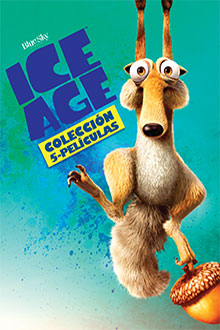 Pack Ice Age 1-5 en DVD