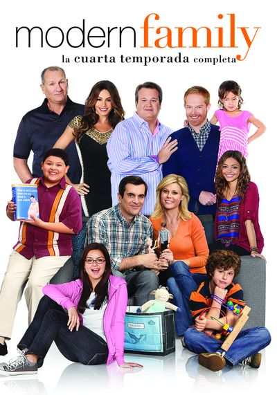 MODERN FAMILY TEMPORADA 4 DVD