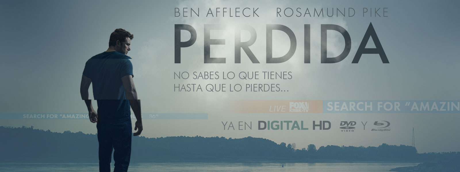 Perdida. Ya en Blu-ray, DVD y Digital HD