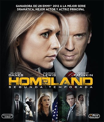 HOMELAND Temporada 2 en Blu-ray
