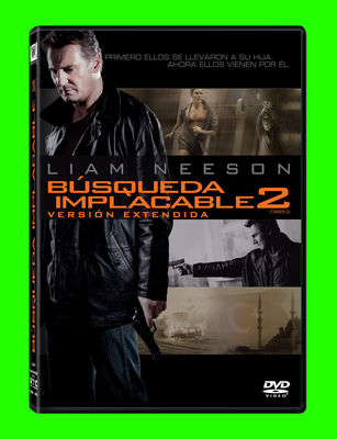 BúSQUEDA IMPLACABLE 2 DVD