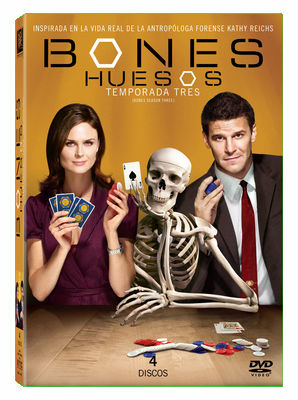 BONES - SEASON 3 (10 EPISODES) DVD