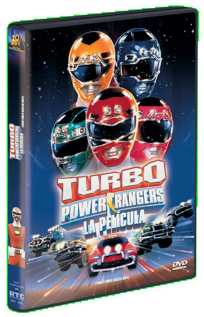 TURBO POWER RANGERS: LA PELÍCULA DVD