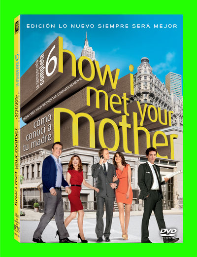 HOW I MET YOUR MOTHER - SEASON 6 (22 EPISODES) DVD