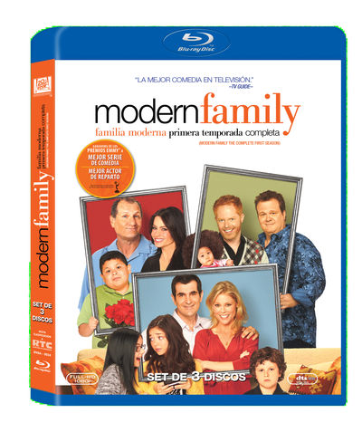 MODERN FAMILY - SEASON 1 (PILOT, 12 EPISODES) Blu-Ray