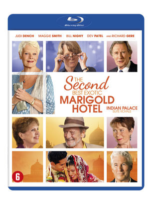 The Second Best Exotic Marigold Hotel (Blu-ray) Blu-Ray