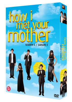 HOW I MET YOUR MOTHER - SEASON 5 (24 EPISODES) DVD