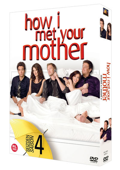 HOW I MET YOUR MOTHER - SEASON 4 (24 EPISODES) DVD