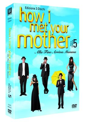 HOW I MET YOUR MOTHER - SEASON 5 (24 EPISODES) (DVD)