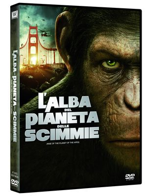 CAESAR: RISE OF THE APES (2012) (DVD)