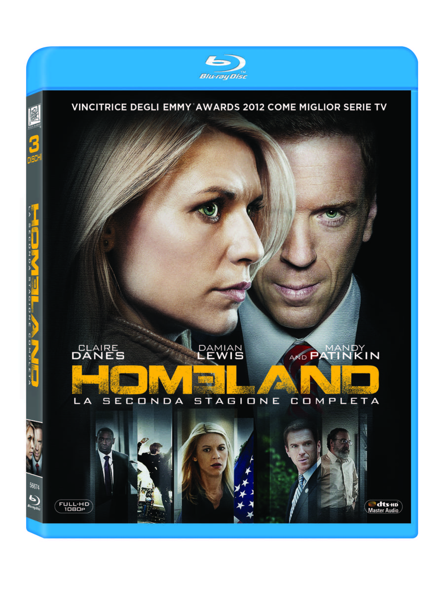 HOMELAND SEASON 2 (Blu-Ray)