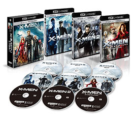 X-MEN 4K ULTRA HD トリロジーBOX <9枚組> Blu-Ray