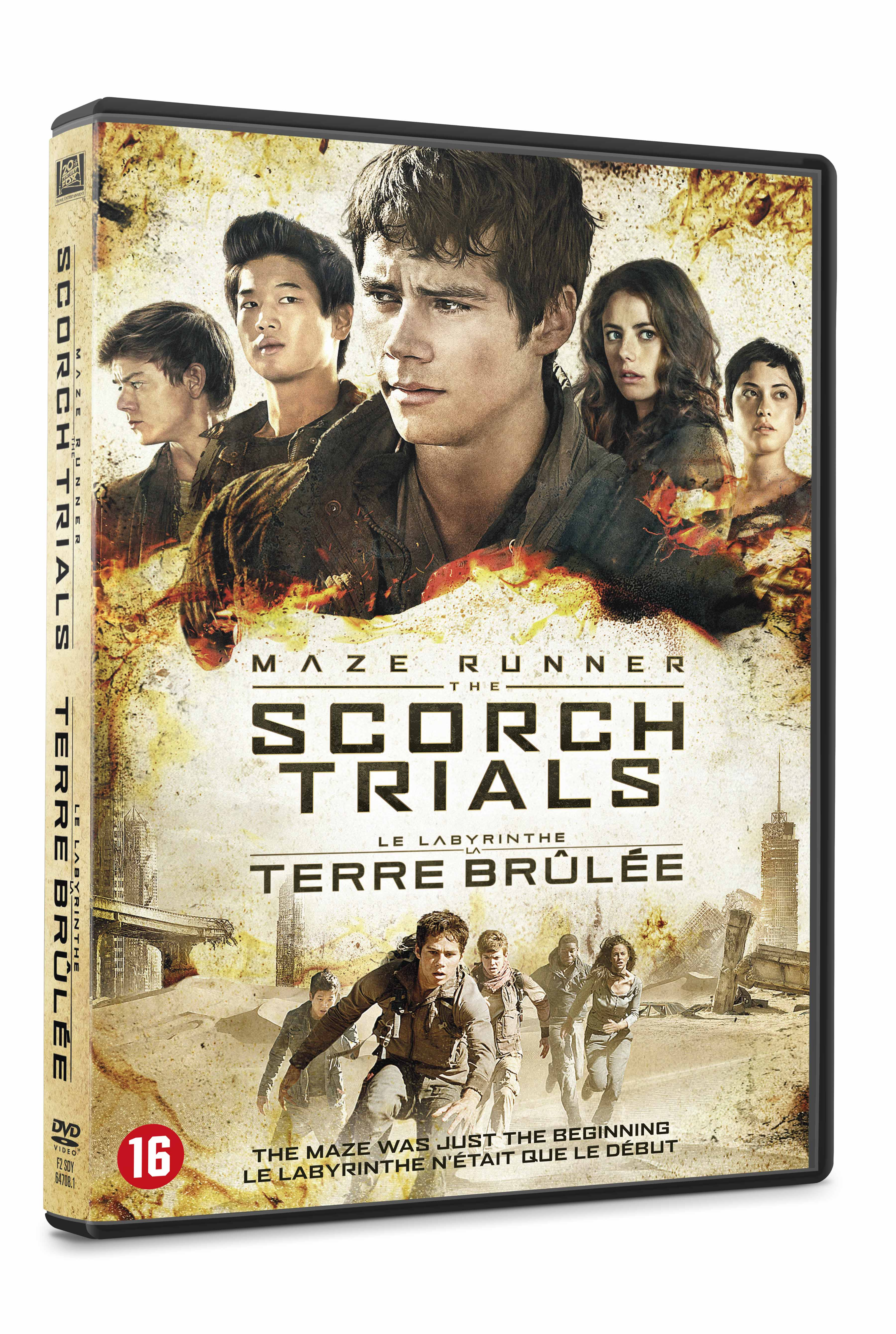 Maze Runner: The Scorch Trials (DVD)