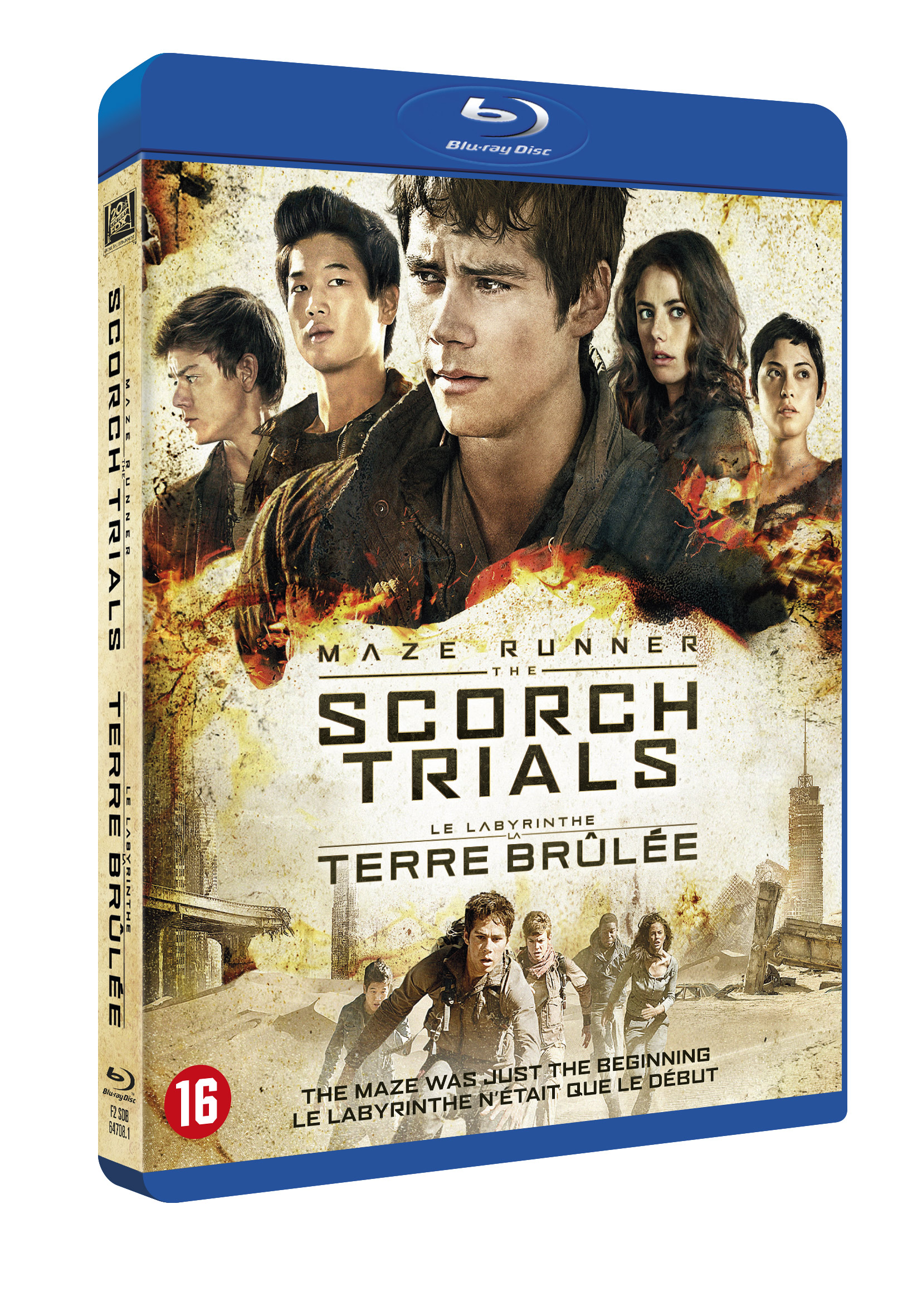 Maze Runner: The Scorch Trials Blu-ray