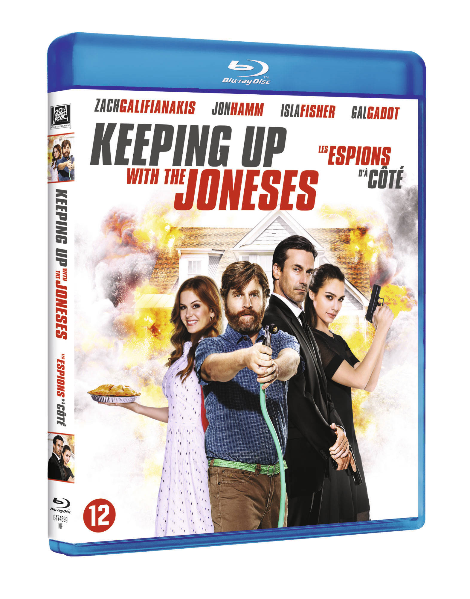 Keeping up with the Joneses Blu-Ray