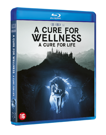 Cure for wellness Blu-ray