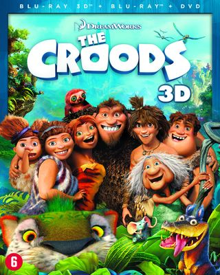 De Croods 3D (Blu-ray)