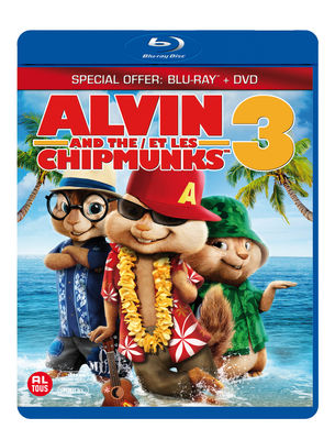 Alvin en de Chipmunks 3 (Blu-ray)