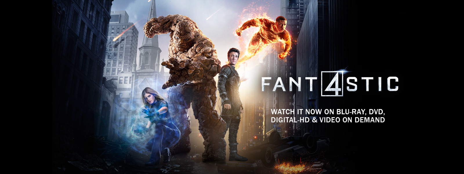 Fantastic Four - Watch it now on Blu-ray, DVD, Digital HD & Video on Demand