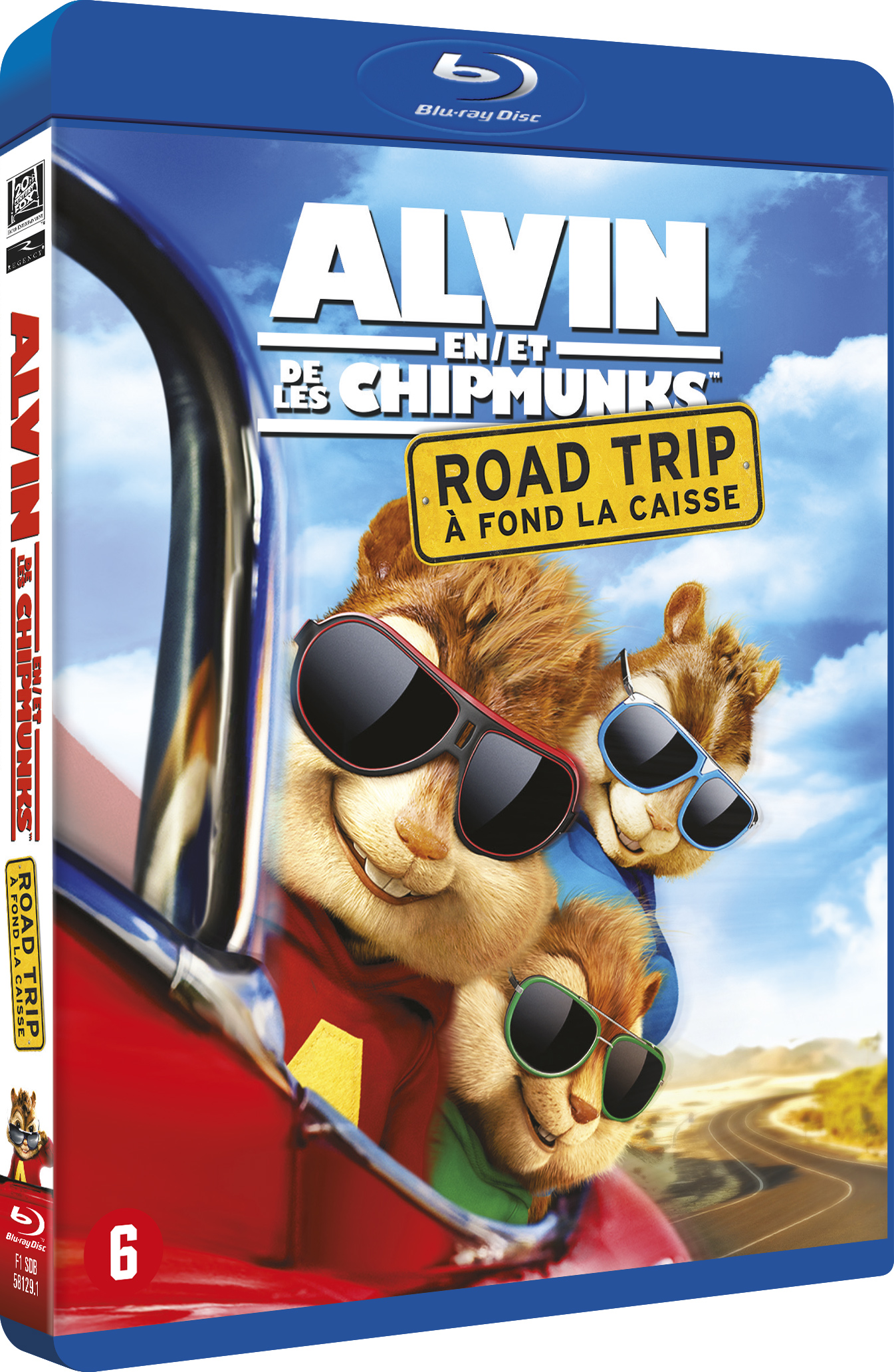 Alvin en de Chipmunks: Road Trip (Blu-ray)