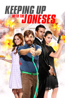 Keeping Up With The Joneses Key Art